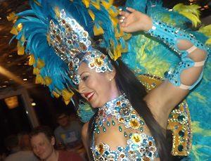 Samba Show im Rodizio Churrasco do Brasil
